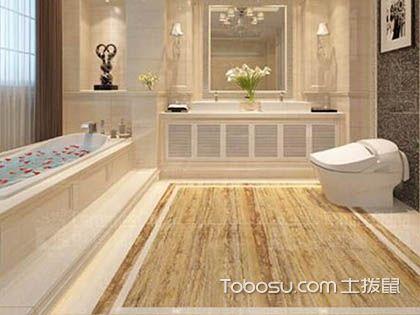 面积不大的斜顶阁楼装修成精巧的浴室刚刚好