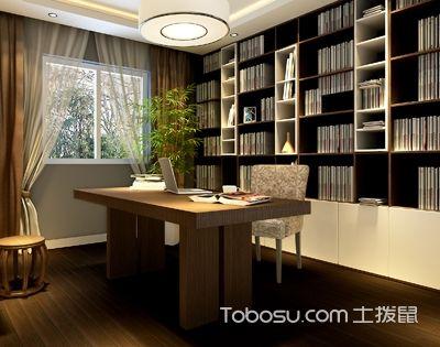 书房风水与空间布局,与事业、学习运势息息相关