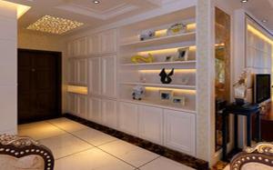 【玄关壁柜】玄关壁柜尺寸,玄关壁柜到顶,安装注意事项,装修效果图