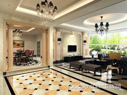 客厅贴什么瓷砖好?打造大气效果才是关键