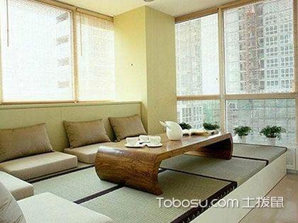 日式风格小户型客厅效果图,感受平淡的温馨
