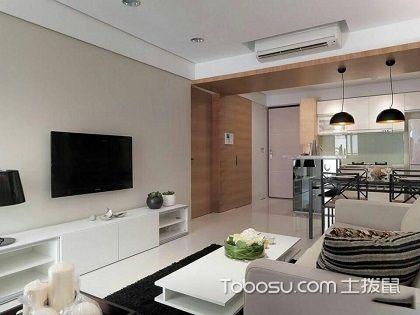 98平米三室一厅装修效果图,用简约风格打造宽敞居室!