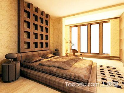 日式风格卧室装潢图,自然元素创造时尚搭配