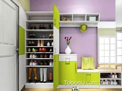进门鞋柜装修效果图,小户型这样设计更显大!
