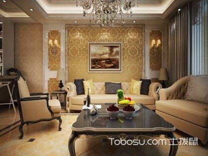 欧式客厅沙发背景墙效果图欣赏,让你看看别人的家!