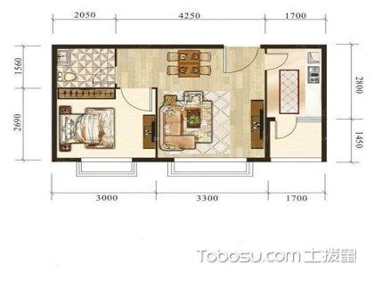 一室一厅户型图大全,直观小空间的扩容设计