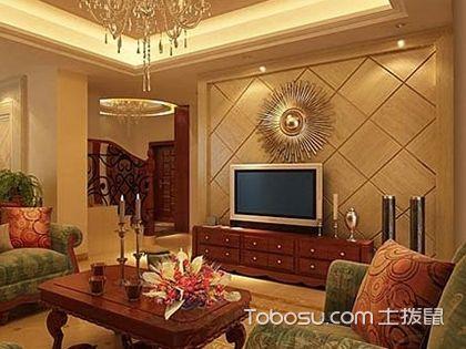 欧式电视背景墙设计,看得见的优雅从容