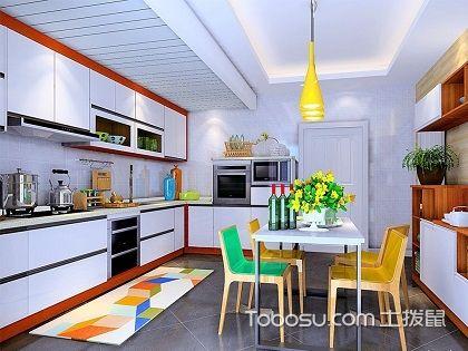 香槟色整体橱柜效果图,缔造轻奢品质厨房生活