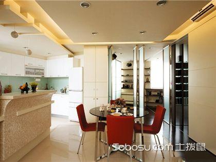 客厅吧台装修效果图欣赏,制造生活的另一种情调!