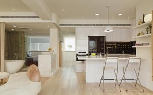 【厨房地板】厨房地板砖,厨房地板清洁,渗水,装修效果图