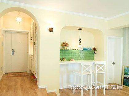 110平米装修效果图,清新自然风的优雅居室