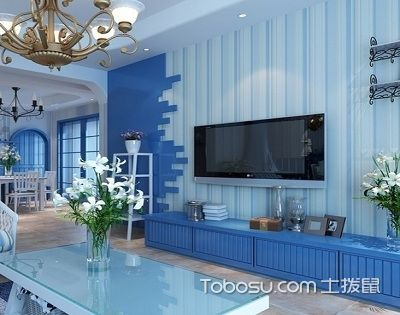 地中海风格墙纸为你打开度假模式,便宜又方便!