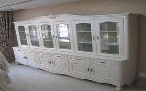 【欧式餐边柜】欧式餐边柜尺寸,欧式餐边柜冰箱,展示柜,效果图