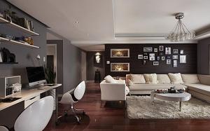 【客厅改造】客厅改造成卧室,客厅改造成书房,阳台,效果图