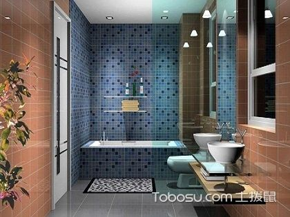 卫生间贴砖怎样贴好?美观大方是王道