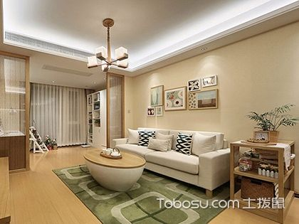两室两厅装修样板间,精打细算的小两居