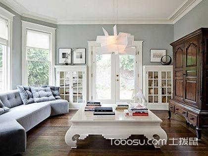 110平米三室两厅效果图,美式风情这里独享