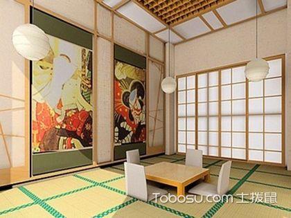 90平方两室两厅装修图,日式风格的宁静致远