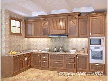 实木整体橱柜效果图,轻松造就实用厨房
