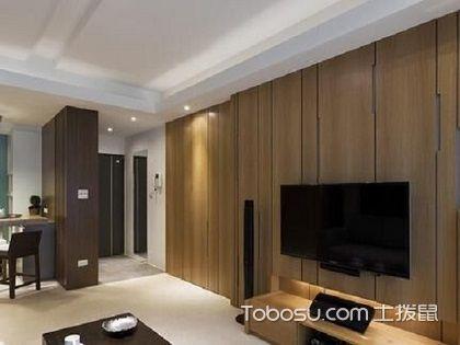 日式风格电视背景墙,打造简单大气的空间感!