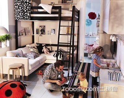 居室空间利用够巧妙,住宅使用面积能翻一番!
