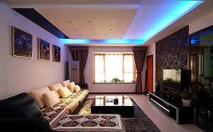 【长方形客厅】长方形客厅如何装修,长方形客厅灯,沙发摆放,效果图