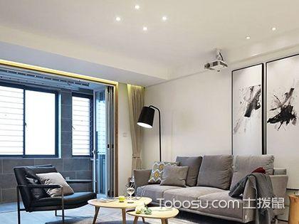 两室两厅装修效果图,中西合璧造美家