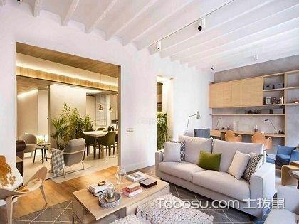 70平米两室简装样板图,简约宁静的质朴生活