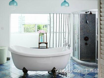 整体浴室装修效果图,让你感受别致的美!
