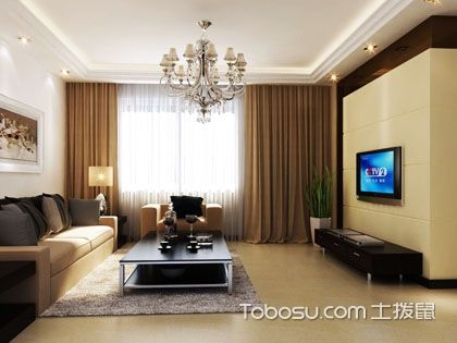 88平米三室两厅装修效果图,让你感受紧促中的温暖!