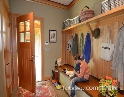 玄关空间利用好,做不一样的居室门面担当