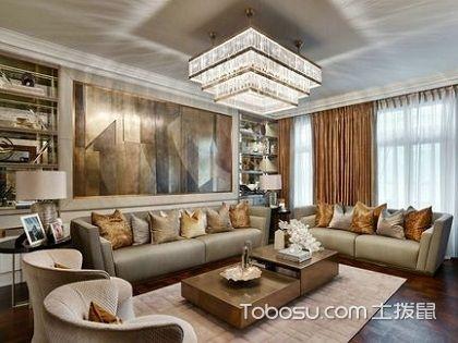 家用客厅灯要如何选?家居装饰作用必不可少