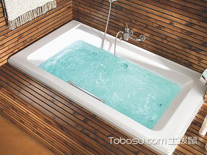 """浴缸装修效果图,享受""""芙蓉出水""""的美感"""