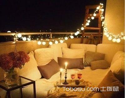 阳台照明设计恰到好处,让你拥有美好的夜晚