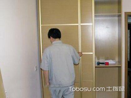 衣柜安装步骤图,清楚告诉你怎么安