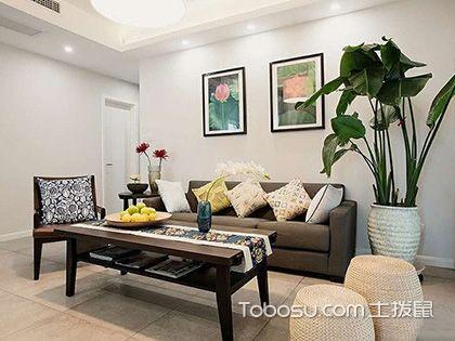 120平米三室二厅装修,扑面而来的清新自然