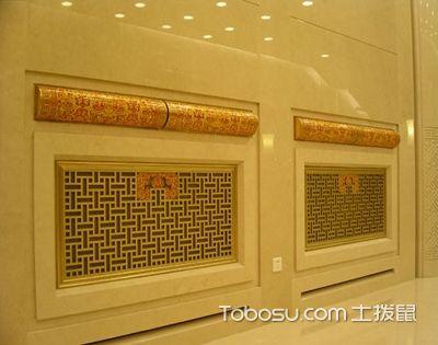 暖气罩安装工程常见的质量问题,主要堤防2大类