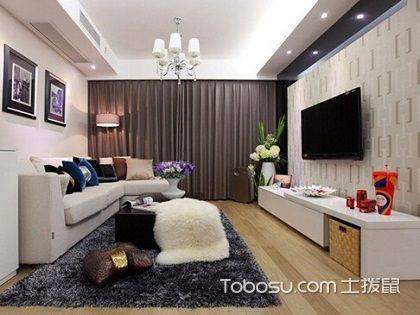两室两厅房子装修,带你感受高雅的生活氛围