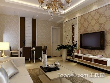 84平方两室两厅装修图,给你简约温馨的家
