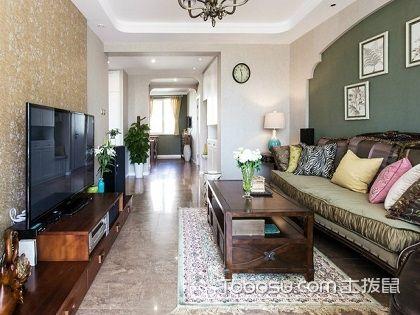 110平米三室两厅装修,让你畅享清新田园氛围