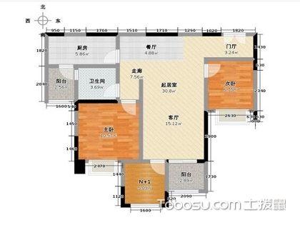 看120平米两房户型图,教你选个好户型