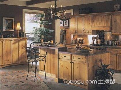 实木橱柜图片,你也能有这样的厨房