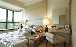 【卧室飘窗】卧室飘窗设计,卧室飘窗窗帘,尺寸,装修效果图
