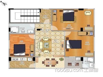 农村110平米户型图,让家居生活更加便利舒适