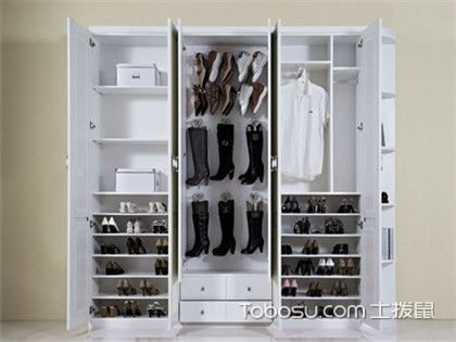 四款整体鞋柜装修效果图欣赏,这样的鞋柜美观又实用