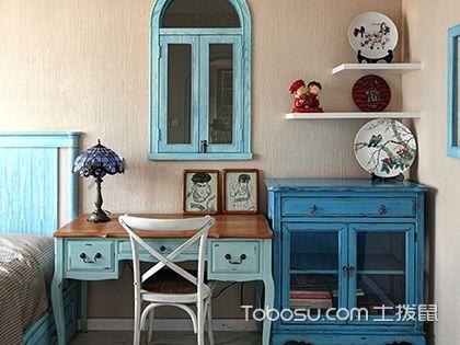 """地中海风格复式装修,享受 """"度假小岛""""生活"""