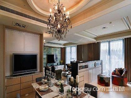 两室一厅装修图,大气沉稳的简约欧式风格