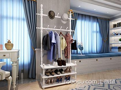 简易室内挂衣架效果图,创意与实用同在