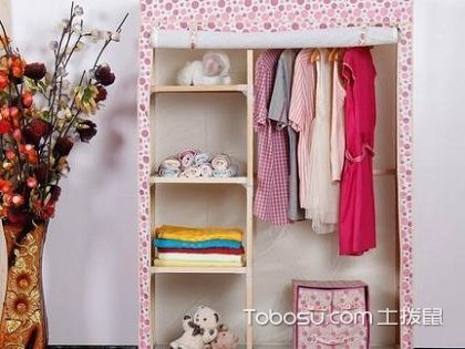 简易衣柜安装超简单,一学你就会