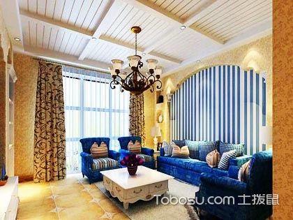 地中海风格装饰电视墙,演绎原汁原味的海滨风情!